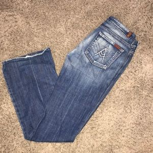 7 for All Mankind Jeans Flare bootcut Sz 28 7fam